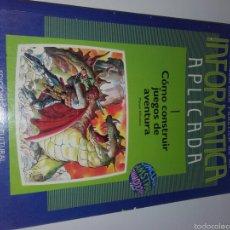Videojuegos y Consolas: LIBRO INFORMATICA AMSTRAD. Lote 68006550