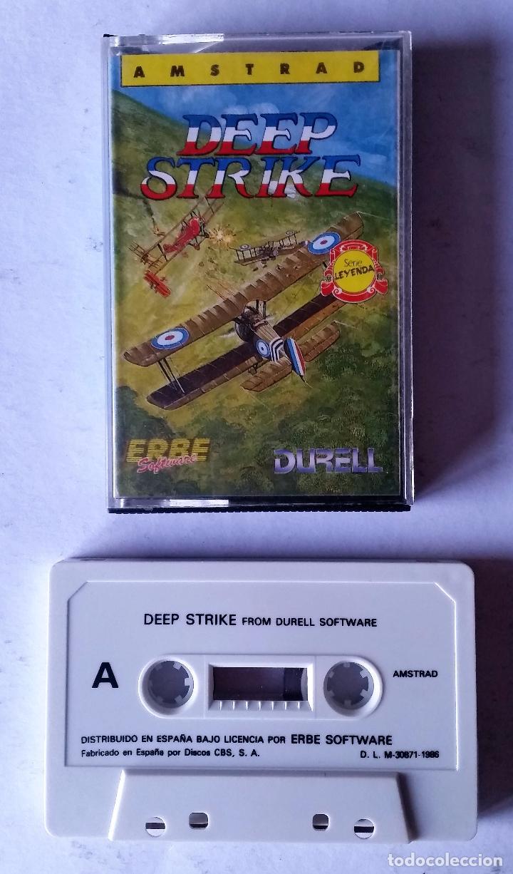 JUEGO AMSTRAD: DEEP STRIKE ---FUNCIONANDO--- (Juguetes - Videojuegos y Consolas - Amstrad)
