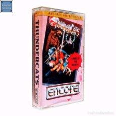 Videojuegos y Consolas: THUNDERCATS / JUEGO AMSTRAD CPC CINTA / ENCORE 1987. Lote 68978213