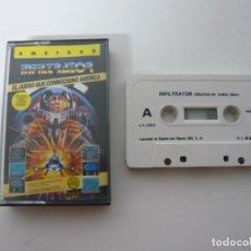 Videojuegos y Consolas: INFILTRATOR - AMSTRAD CPC 464 - CASSETTE - CLÁSICO - RETRO VINTAGE. Lote 69257977
