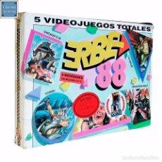 Videojuegos y Consolas: ERBE 88 (CONTIENE 5 JUEGOS) / JUEGO AMSTRAD CPC CINTA / ESPAÑOL / ERBE 1988. Lote 52433784