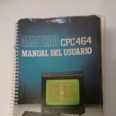 Videojuegos y Consolas: MANUAL USUARIO AMSTRAD CPC 464. Lote 71855605