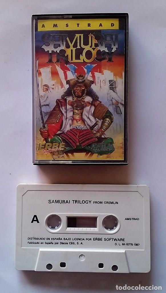 JUEGO AMSTRAD : SAMURAI TRILOGY (Juguetes - Videojuegos y Consolas - Amstrad)