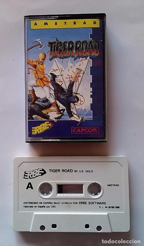 JUEGO AMSTRAD : TIGER ROAD (Juguetes - Videojuegos y Consolas - Amstrad)