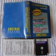 Videojogos e Consolas: AMSTRAD JUEGO INDESCOMP SOFTWARE EDICIÓN ESPAÑOLA ESTUCHE AMSOFT. Lote 74099255