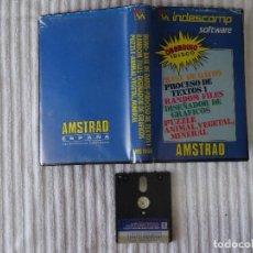 Videojuegos y Consolas: AMSTRAD JUEGO INDESCOMP SOFTWARE EDICIÓN ESPAÑOLA ESTUCHE AMSOFT INDES. Lote 74099319