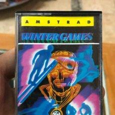 Videojuegos y Consolas: JUEGO VIDEOJUEGO WINTER GAMES - AMSTRAD - CASSETTE -. Lote 74996267