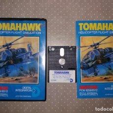 Videojuegos y Consolas: TOMAHAWK HELICOPTER FLIGHT SIMULATON AMSTRAD. Lote 76198843