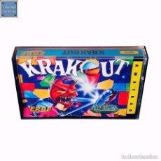 Videojuegos y Consolas: KRAKOUT / JUEGO AMSTRAD CPC CINTA / ESPAÑOL / GREMLIN ERBE 1987. Lote 76221463
