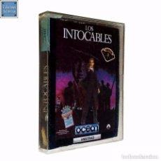 Videojuegos y Consolas: LOS INTOCABLES / JUEGO AMSTRAD CPC CINTA / ESPAÑOL / OCEAN ERBE 1989. Lote 76957941