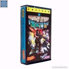 Videojuegos y Consolas: THE VINDICATOR / JUEGO AMSTRAD CPC CINTA / ESPAÑOL / IMAGINE OCEAN ERBE 1988 ( BOB WAKELIN COVER ). Lote 76958305