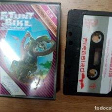 Videojuegos y Consolas: STUNT BIKE SIMULATOR - AMSTRAD. Lote 77236501