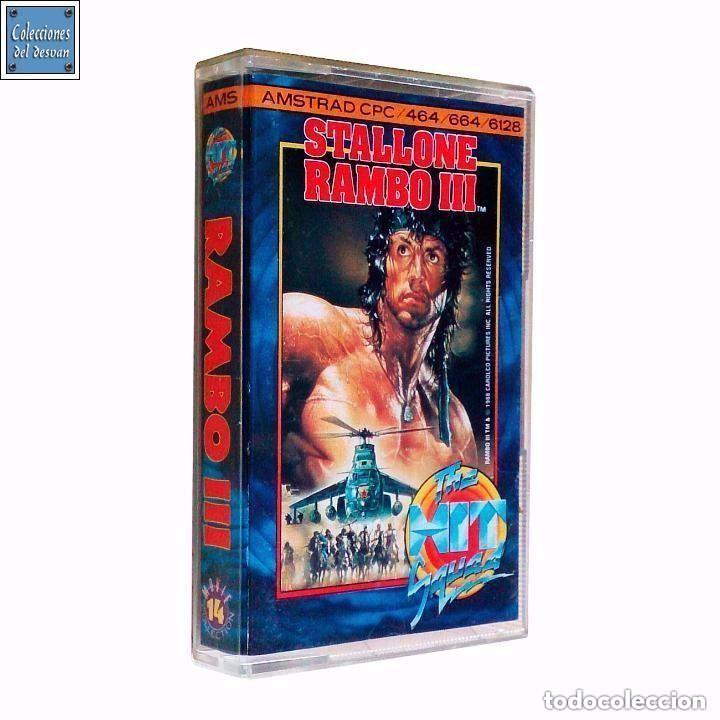 RAMBO III 3 / JUEGO AMSTRAD CPC CINTA / THE HIT SQUAD 1988 (Juguetes - Videojuegos y Consolas - Amstrad)