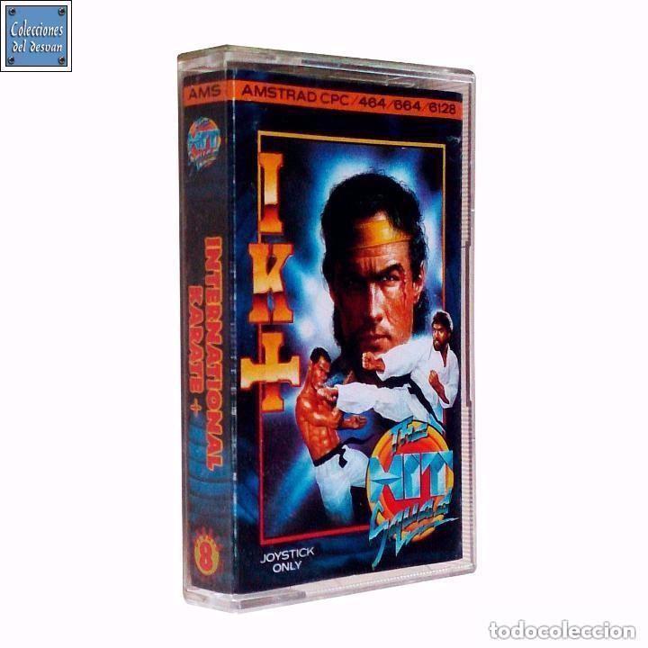 IK + / INTERNATIONAL KARATE / JUEGO AMSTRAD CPC CINTA / THE HIT SQUAD 1987 (Juguetes - Videojuegos y Consolas - Amstrad)