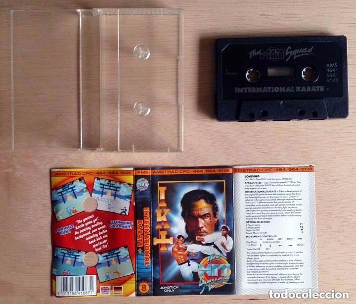 Videojuegos y Consolas: IK + / International Karate / Juego Amstrad CPC Cinta / The Hit Squad 1987 - Foto 2 - 77495337