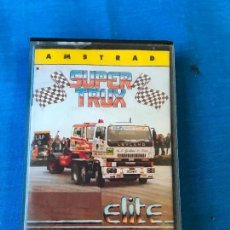 Videojuegos y Consolas: SUPER TRUX - AMSTRAD CPC CINTA CASETE VERSION ESPAÑOLA MCM SOFT JUEGO CASSETTE ELITE. Lote 78945017