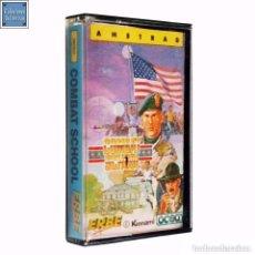 Videojuegos y Consolas: COMBAT SCHOOL / JUEGO AMSTRAD CPC CINTA / ESPAÑOL / KONAMI OCEAN ERBE 1987. Lote 79708429