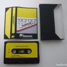 Videojuegos y Consolas: QUINIELAS1X2 / AMSTRAD CPC 464 - 6128 / CASSETTE / RETRO. Lote 79891845