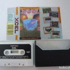 Videojuegos y Consolas: XCEL / AMSTRAD CPC 464 - 6128 / CASSETTE / RETRO. Lote 82188616