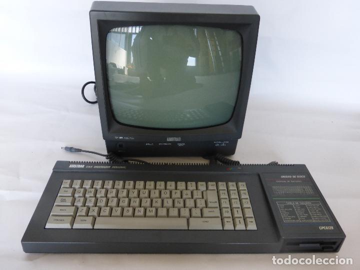ORDENADOR COMPUTADORA AMSTRAD 128K - TECLADO CPC 6128 + MONITOR GT 65 -BUEN ESTADO DE CONSERVACIÓN- (Juguetes - Videojuegos y Consolas - Amstrad)