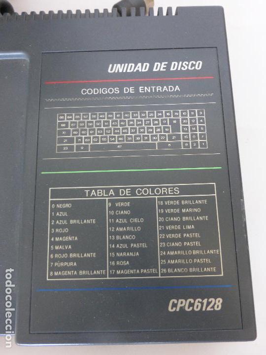 Videojuegos y Consolas: ORDENADOR COMPUTADORA AMSTRAD 128K - TECLADO CPC 6128 + MONITOR GT 65 -BUEN ESTADO DE CONSERVACIÓN- - Foto 5 - 82210856