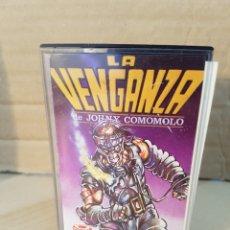 Videojuegos y Consolas: AMSTRAD LA VENGANZA DE JOHNY COMOMOLO. Lote 85845903