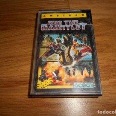 Videojuegos y Consolas: JUEGO RUN THE GAUNTLET PARA AMSTRAD. Lote 86447232