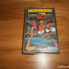Videojuegos y Consolas: GRYZOR JUEGO AMSTRAD CPC CINTA ESPAÑOL KONAMI OCEAN ERBE 1987. Lote 86448352