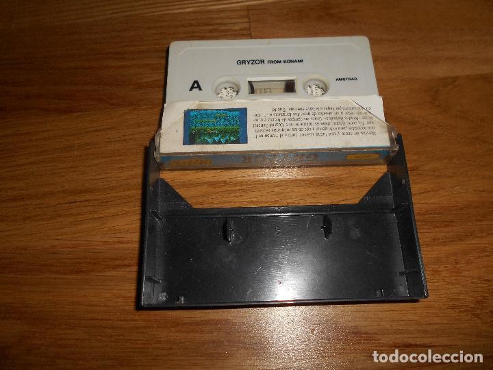 Videojuegos y Consolas: Gryzor Juego Amstrad CPC Cinta Español Konami Ocean Erbe 1987 - Foto 2 - 86448352