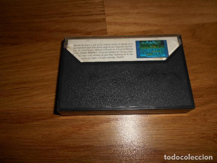 Videojuegos y Consolas: Gryzor Juego Amstrad CPC Cinta Español Konami Ocean Erbe 1987 - Foto 3 - 86448352