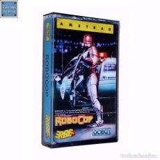 Videojuegos y Consolas: ROBOCOP / JUEGO AMSTRAD CPC CINTA / ESPAÑOL / OCEAN ERBE 1988. Lote 86480820
