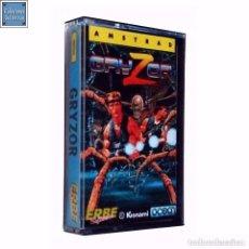 Videojuegos y Consolas: GRYZOR / JUEGO AMSTRAD CPC CINTA / ESPAÑOL / KONAMI OCEAN ERBE 1987 ( BOB WAKELIN COVER ). Lote 86481368
