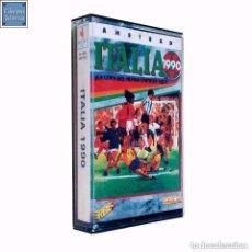 Videojuegos y Consolas: ITALIA 90 / JUEGO AMSTRAD CPC CINTA / ESPAÑOL / U.S. GOLD ERBE 1990. Lote 86828732