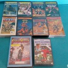Videojuegos y Consolas: LOTE 10 JUEGOS PARA AMSTRAD AÑOS 80 DOUBLE DRAGON II AFTER THE WAR FERNANDO MARTÍN COMANDO . Lote 87277540