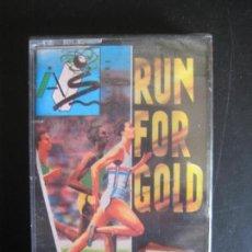 Videojuegos y Consolas: RUN FOR GOLD VIDEOJUEG AMSTRAD PRECINTADO. Lote 87572972