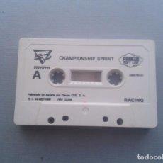 Videojuegos y Consolas: JUEGO AMSTRAD CPC 464 CHAMPIONSHIP SPRINT SOLO CASSETTE R6360. Lote 89266616