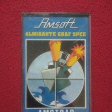 Videojuegos y Consolas: JUEGO PARA AMSTRAD, ALMIRANTE GRAF SPEE. Lote 89394150