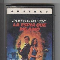 Videojuegos y Consolas: JUEGO AMSTRAD.JAMES BOND LA ESPIA QUE ME AMO . 1987. PERFECTO ESTADO CARÁTULA INSTRUCCIONES. Lote 89881524
