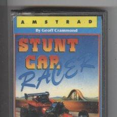 Videojuegos y Consolas: JUEGO AMSTRAD. STUNT CAR RACER. 1990. PERFECTO ESTADO CON CARÁTULA CON INSTRUCCIONES. Lote 89881632