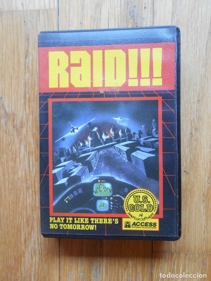 RAID, AMSTRAD (Juguetes - Videojuegos y Consolas - Amstrad)