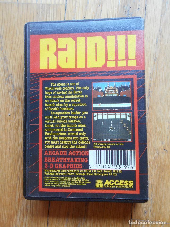 Videojuegos y Consolas: RAID, Amstrad - Foto 2 - 90271108