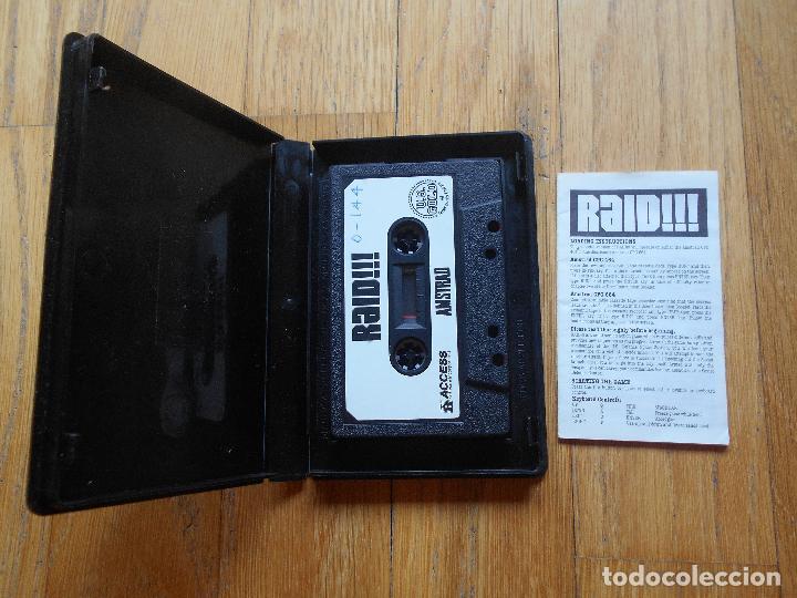 Videojuegos y Consolas: RAID, Amstrad - Foto 3 - 90271108