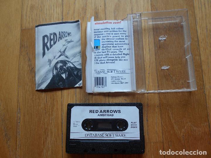 Videojuegos y Consolas: JUEGO RED ARROWS, Amstrad - Foto 3 - 90289340