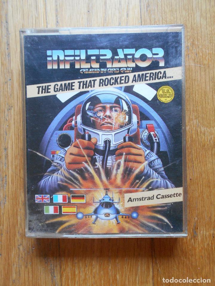 INFILTRATOR THE GAME THAT ROCKED AMERICA, AMSTRAD (Juguetes - Videojuegos y Consolas - Amstrad)