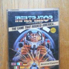 Videojuegos y Consolas: INFILTRATOR THE GAME THAT ROCKED AMERICA, AMSTRAD. Lote 90332560