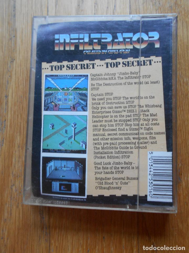 Videojuegos y Consolas: INFILTRATOR The Game That Rocked America, Amstrad - Foto 2 - 90332560