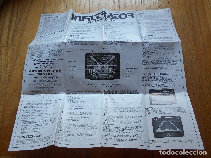 Videojuegos y Consolas: INFILTRATOR The Game That Rocked America, Amstrad - Foto 3 - 90332560