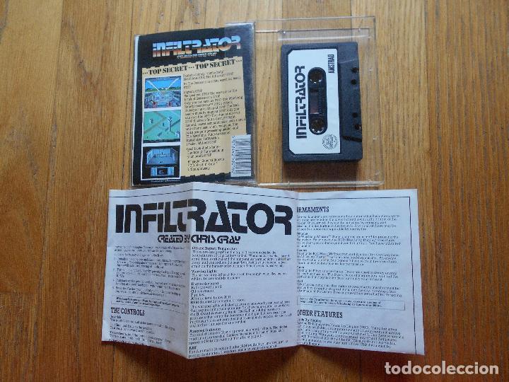 Videojuegos y Consolas: INFILTRATOR The Game That Rocked America, Amstrad - Foto 4 - 90332560