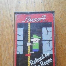 Videojuegos y Consolas: ROLAND ON THE ROPES, AMSTRAD. Lote 90333020