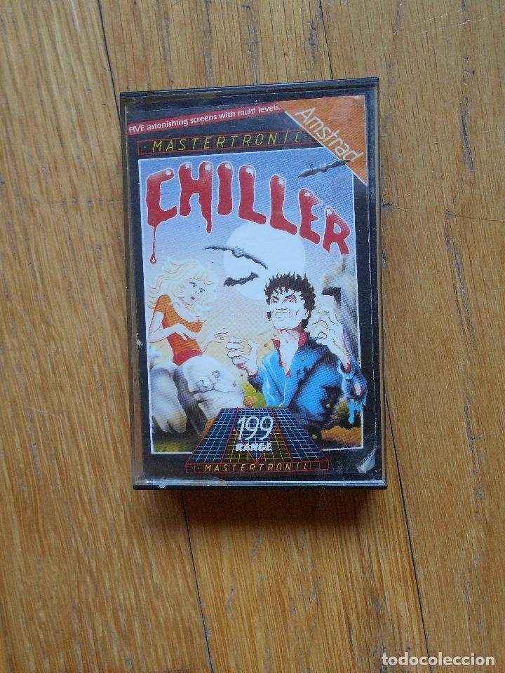 CHILLER, AMSTRAD, MASTERTRONIC (Juguetes - Videojuegos y Consolas - Amstrad)